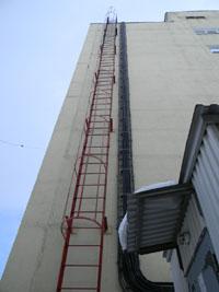 испытание пожарных лестниц в 2018: требования и образец акта